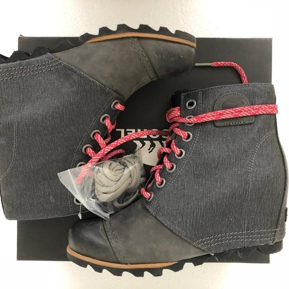 0463a393d5dd sorel women pdx wedge waterproof boots grey 10 M